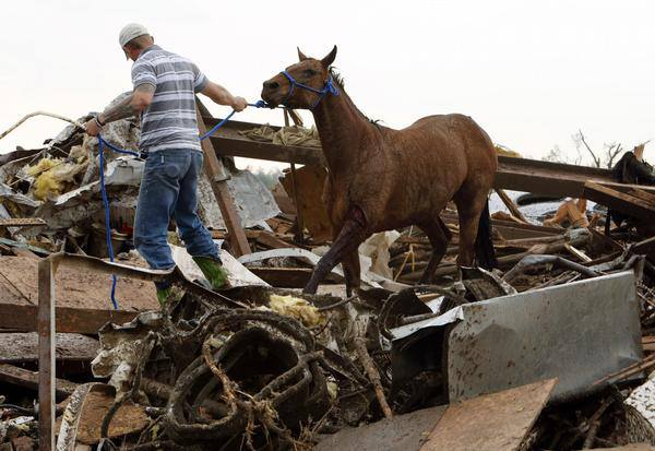 Orr Family Farm Sustains Massive Losses in OK Tornado