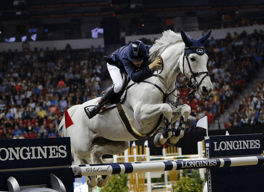 Ireland's Bertram Allen Wins Round One in Jumping on Molly Malone V
