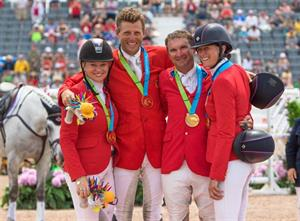 U.S. Eventing Team Golden at 2015 Pan American Games