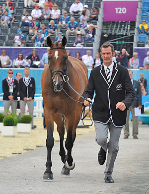 Boyd Martin First to Ride in London 2012 Equestrian Events