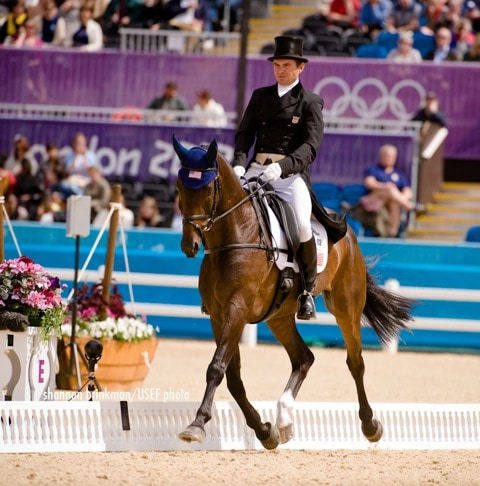 Phillip Dutton Leads USA Olympic Eventers After Dressage