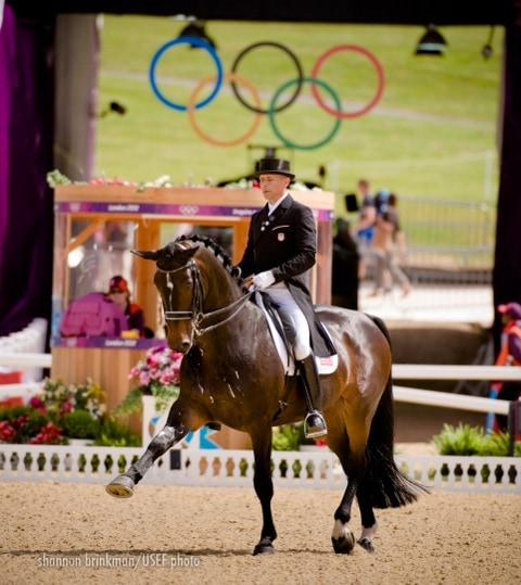 Steffen Peters and Ravel Boost USA's Olympic Dressage Team