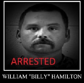 ARRESTED: Billy Hamilton