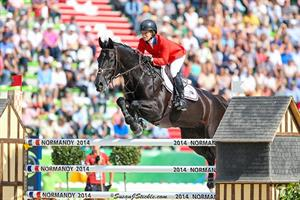 U.S. Show Jumping Team Poised in 2nd Place at World Equestrian Games