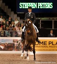Peters Claims Third in WDM Freestyle at World Dressage Masters Palm Beach