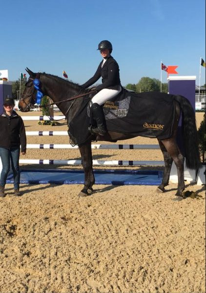 Jumper rider Becca Weissbard, of New York, dies after a tragic riding accident at HITS Saugerties.