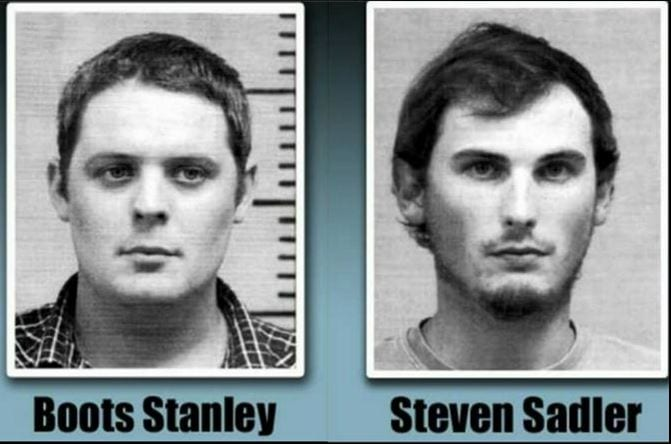 Boots Stanley and Steven Sadler Sentenced