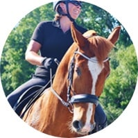 Dressage Contributor Amber Kimball at HorseAuthority.co